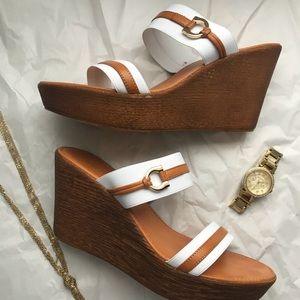 Nine West Summer Wedge Shoe